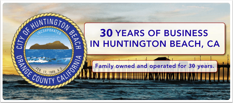 We Have Been Conducting Business in Our Community for 30 Years